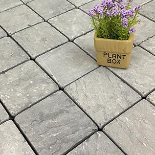 Outdoor DIY natural deck tiles for garden TTS9P-GY
