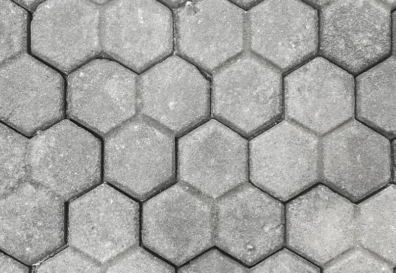Interlocking stone deck tiles