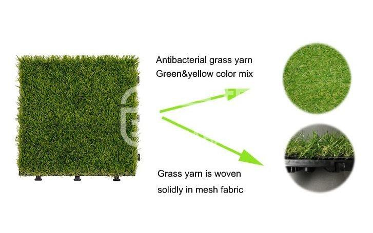 JIABANG outdoor grass tiles easy installation for garden-3