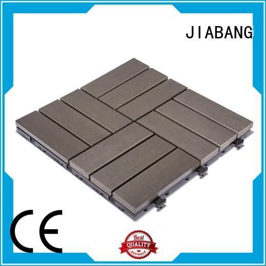 JIABANG plastic patio tiles anti-siding gazebo decoration