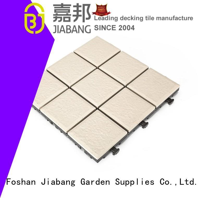 JIABANG flooring porcelain patio tiles gazebo construction