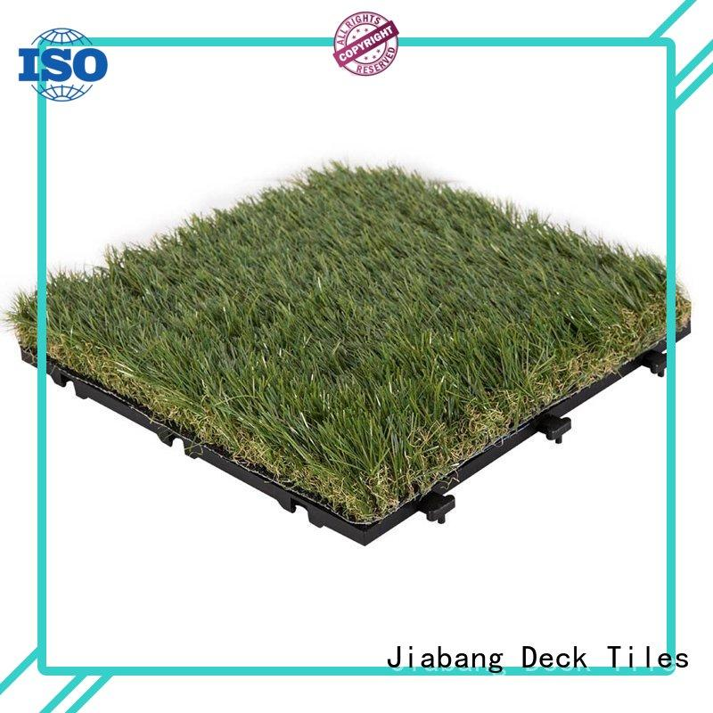 chic design grass carpet squares hot-sale for garden JIABANG