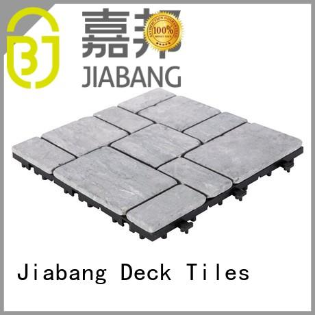 floor white diy travertine deck tiles JIABANG