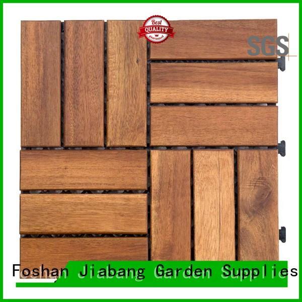 JIABANG hot-sale acacia hardwood deck tiles outdoor at discount
