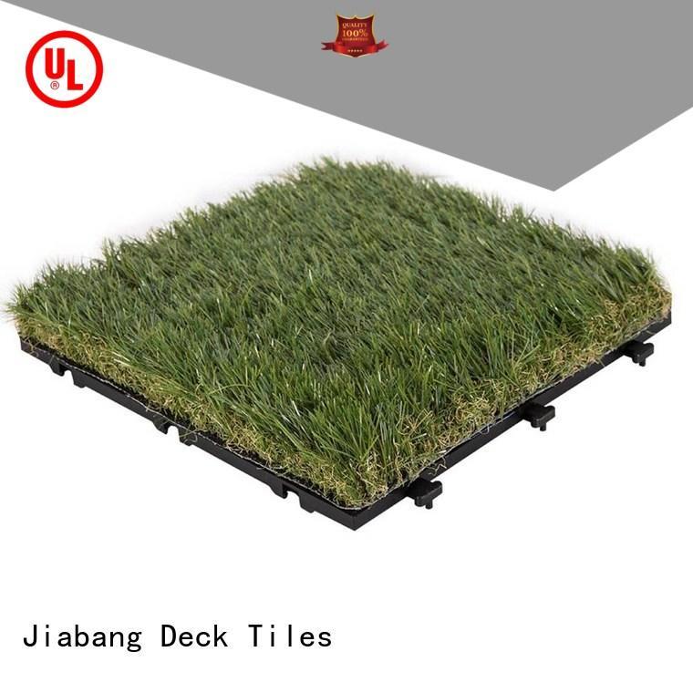 JIABANG outdoor grass tiles easy installation for garden