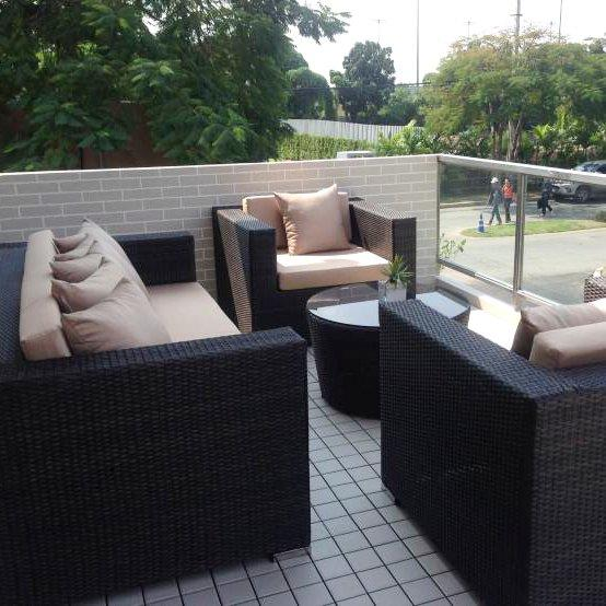 JIABANG 1.0CM ceramic decking tiles for Thailand project