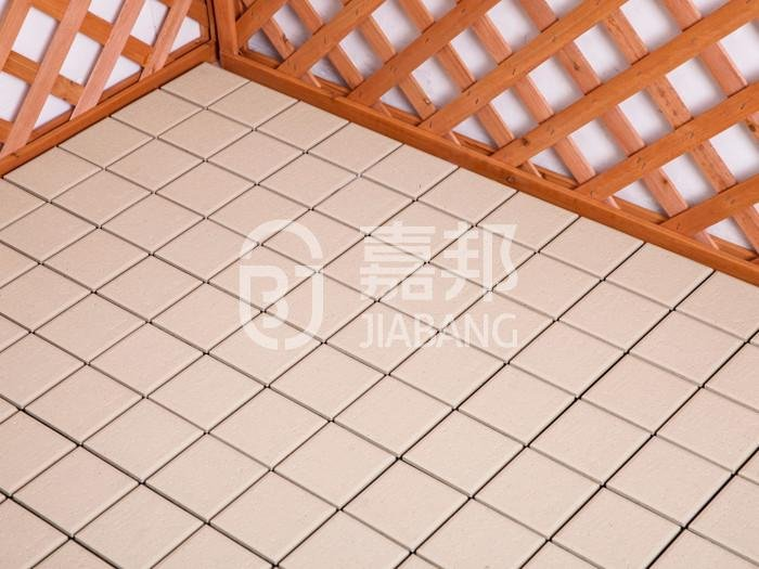 Plastic sun room decking tile PS12P30312LGC-12