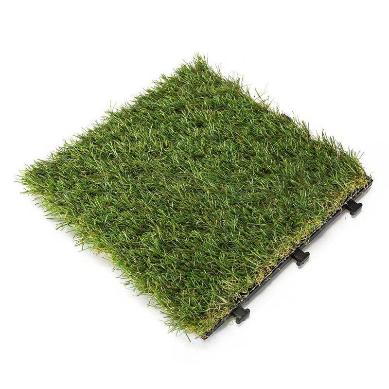 Antibacterial artificial grass deck tiles G015