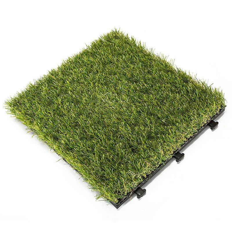 Garden landscape artificial turf deck tiles G004