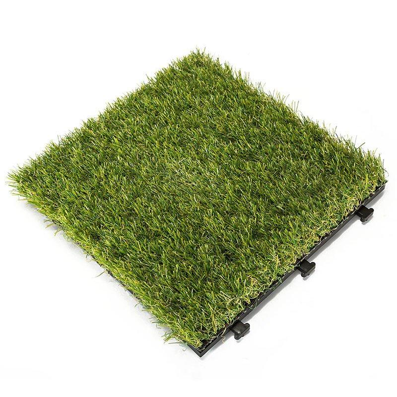 Garden landscape artificial turf deck tiles G004