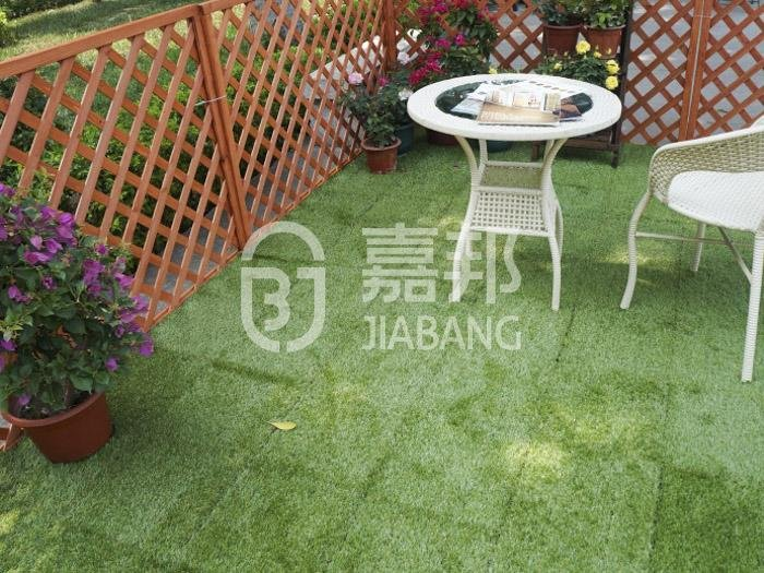 JIABANG anti-bacterial deck tiles on grass hot-sale for wholesale-5