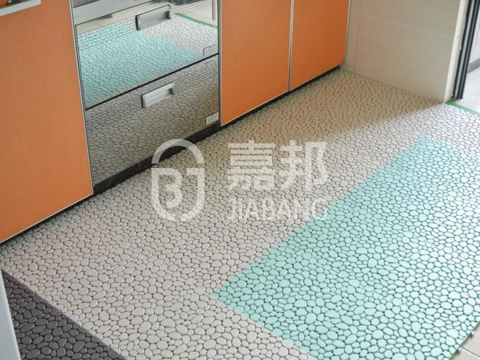 sand grey non slip bathroom tiles green JIABANG Brand company