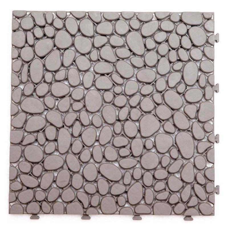Non slip bathroom floor deck tiles JBPL3030PB grey