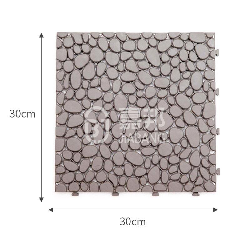protective plastic patio tiles plastic mat top-selling