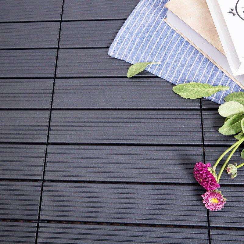 JIABANG Outdoor metal aluminum deck tiles AL4P3030 brown Aluminum Deck Tiles image3