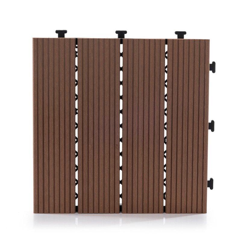 JIABANG Easy install patio wpc deck tiles SM-4P-A BH Composite Deck Tile image118