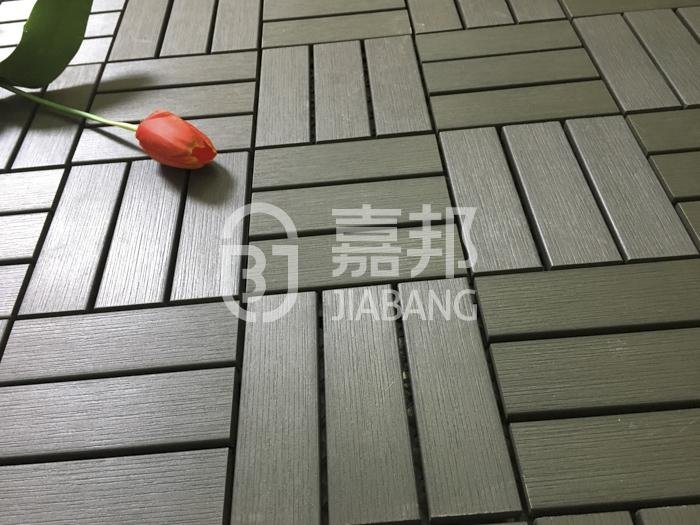 plastic interlocking tile