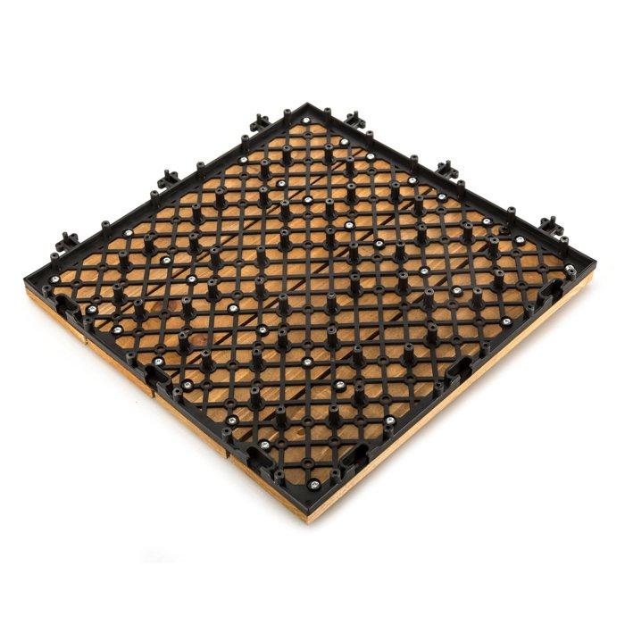 JIABANG Patio wood deck tiles S4P3030PH Fir Wood Deck Tile image111