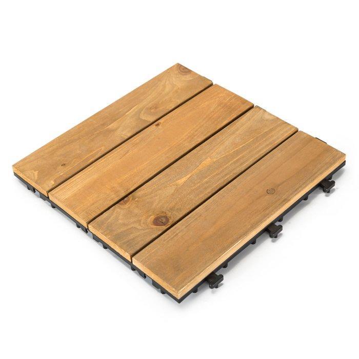 Patio wood deck tiles S4P3030PH
