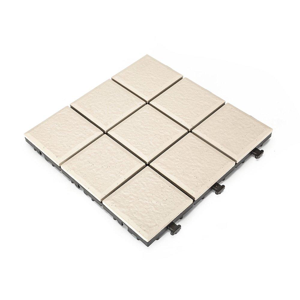 JIABANG 1.0cm ceramic outdoor decking tile JB5000 1.0cm Ceramic Deck Tiles image109