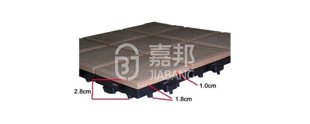 JIABANG ODM ceramic patio tiles custom size for patio decoration