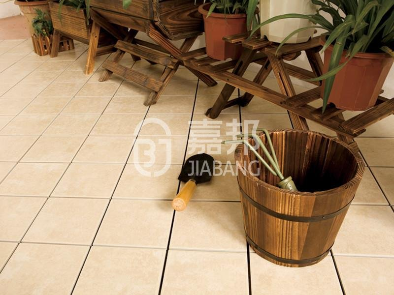 anti slip outdoor floor tiles balcony decoration JIABANG-5