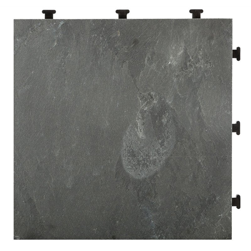 JIABANG Basement floor interlocking slate tiles JBD002 Slate Deck Tiles image105