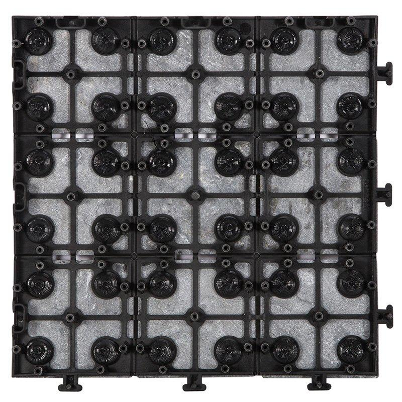 Basement floor interlocking slate tiles JBD002