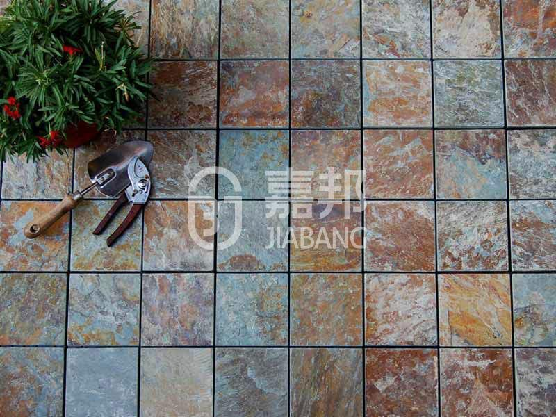 JIABANG diy real stones exterior slate tile floor decoration floors building-5