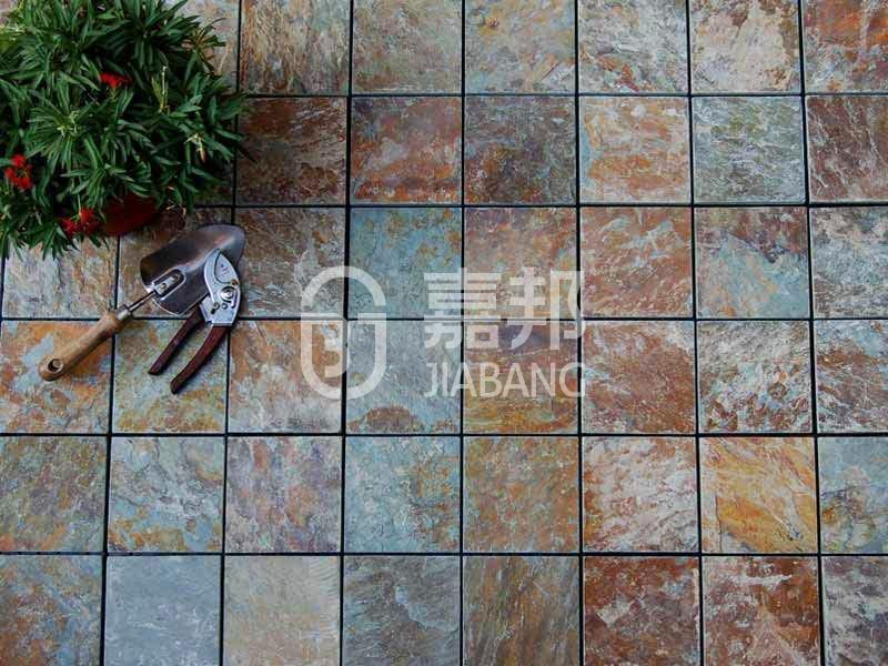 JIABANG interlocking outside slate floor tiles swimming pool