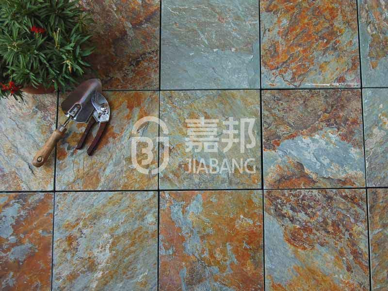 JIABANG diy real stones exterior slate tile floor decoration floors building-6