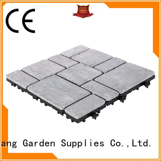 JIABANG natural travertine tile pool deck wholesale for garden decoration