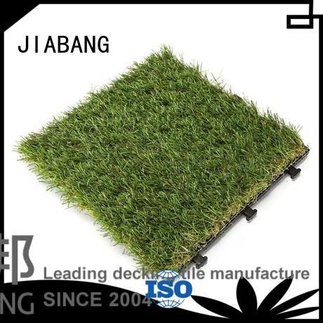 JIABANG Brand antibacterial fake grass squares turf factory