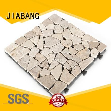 JIABANG hot-sale silver travertine tile high-quality for playground