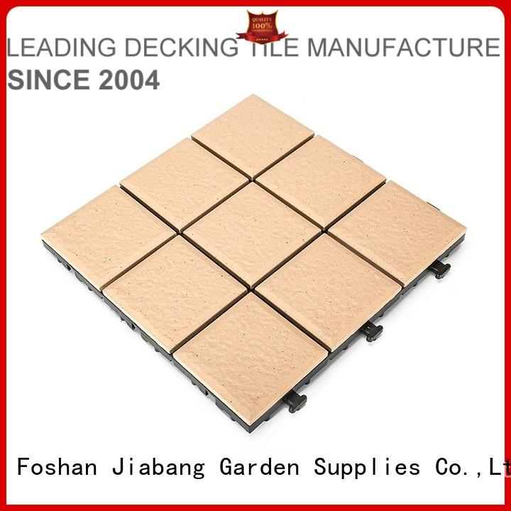 Quality JIABANG Brand ceramic garden tiles porch tile