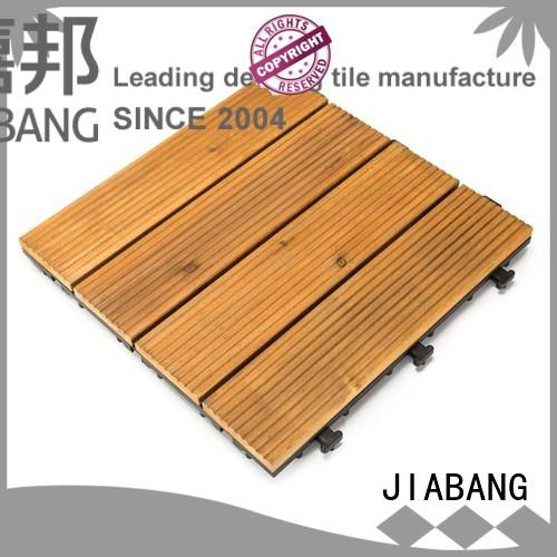 natural interlocking wood decking flooringwood wooden floor JIABANG