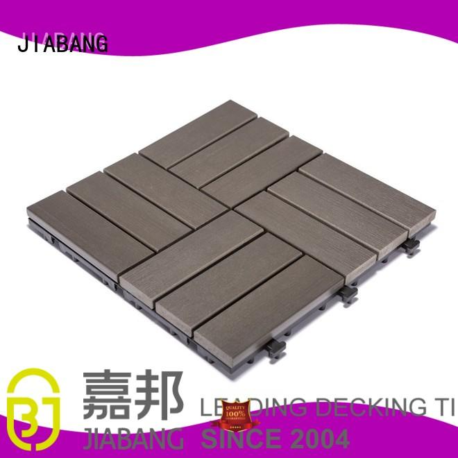 path sun JIABANG Brand pvc deck tiles factory