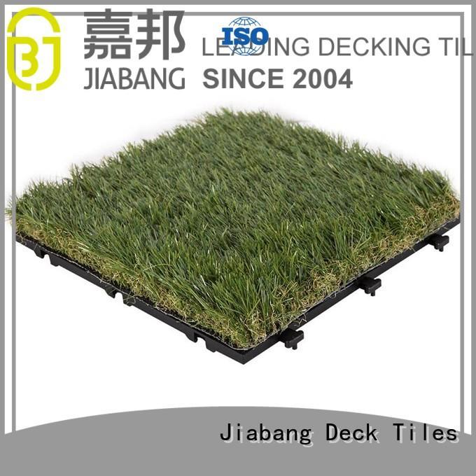 JIABANG flooring fake grass squares hot-sale for wholesale