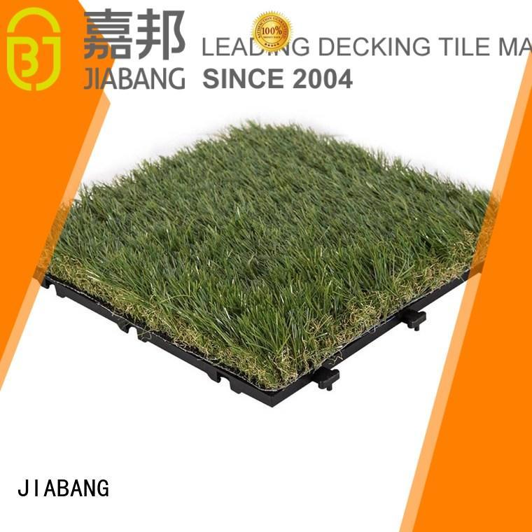 Quality JIABANG Brand tiles fake grass squares