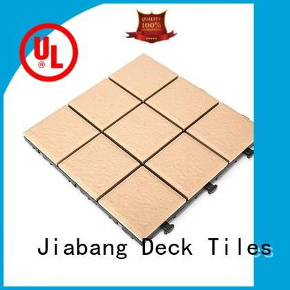 JIABANG hot-sale porcelain deck tiles custom size at discount