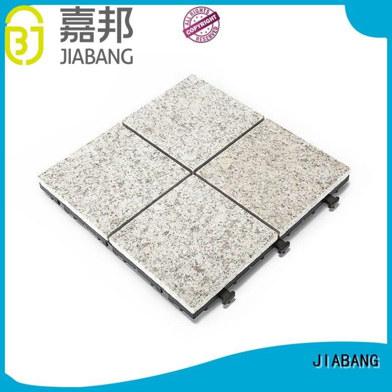 JIABANG Brand outdoor flamed granite floor tiles dark supplier