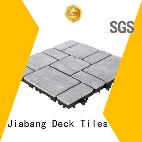 interlocking tumbled travertine floor tiles outdoor wholesale for garden decoration