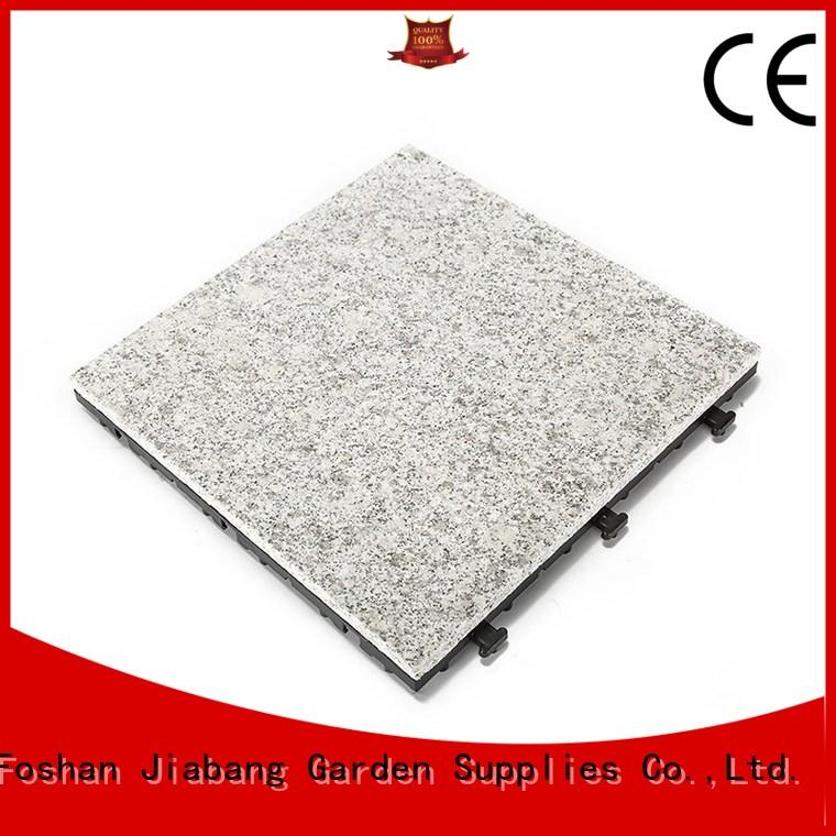 JIABANG highly-rated gray granite tile factory price for porch construction