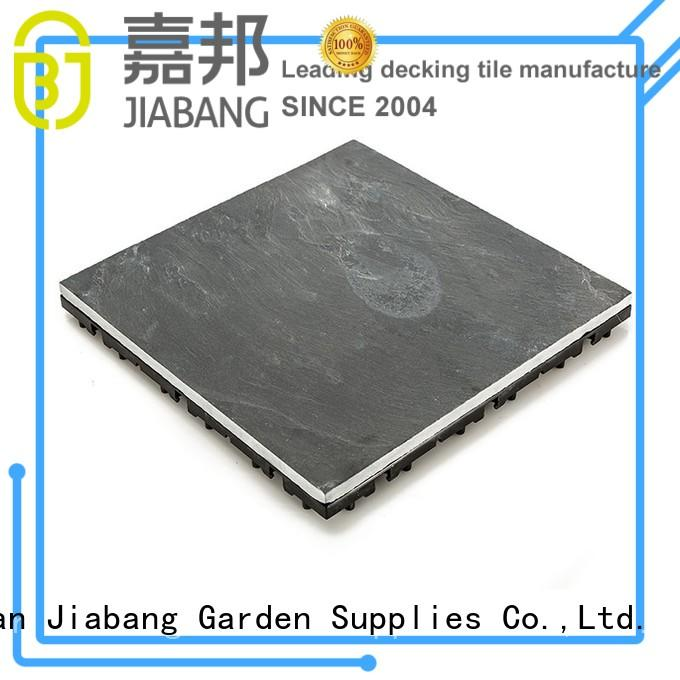 Wholesale floors outdoor stone deck tiles JIABANG Brand