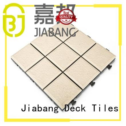 interlocking outdoor ceramic tile best manufacturer for garden JIABANG