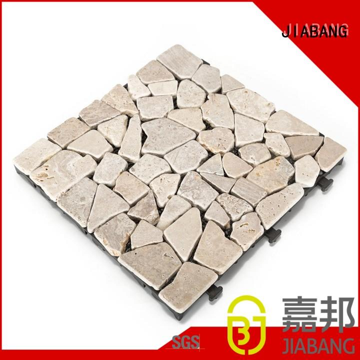 natural french pattern travertine pool deck high-quality for playground JIABANG