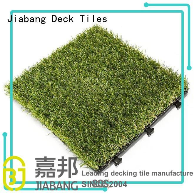 JIABANG high-quality grass tiles wholesale balcony construction