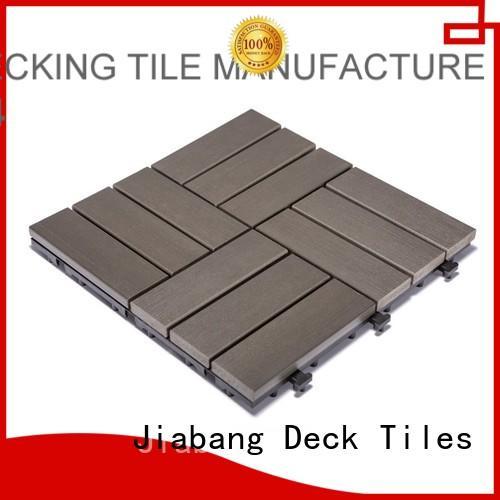 pvc deck tiles deck path home JIABANG Brand company