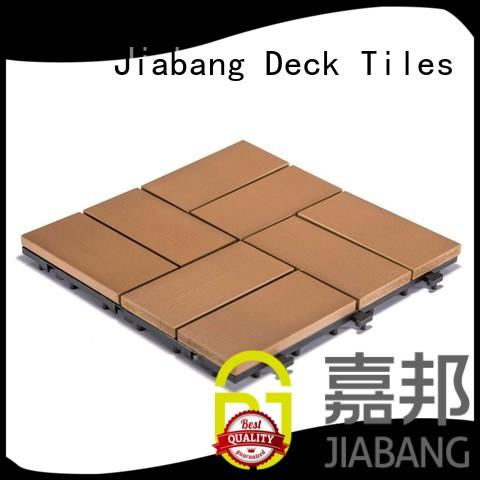 high-end plastic interlocking patio tiles anti-siding garden path