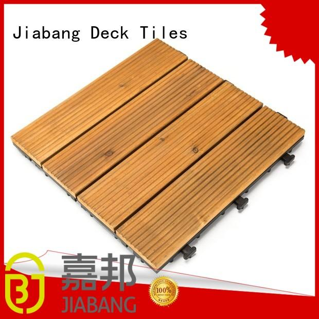 natural garden wooden decking floor flooring wood wooden floor JIABANG